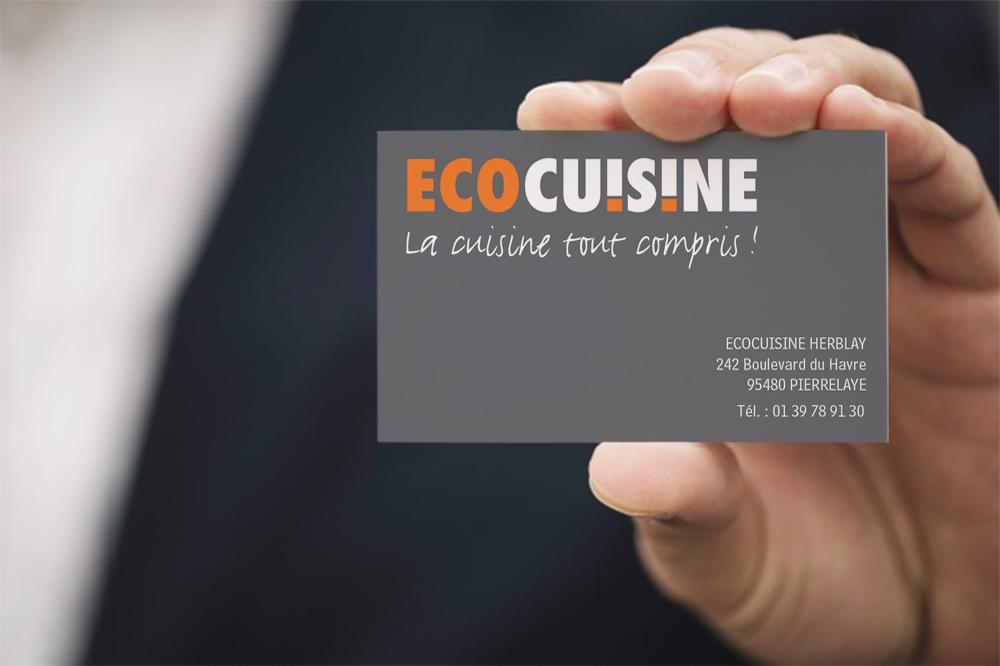 Chemise Et Carte De Visite Eco Cuisine